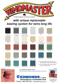 Roof Ventilation Colour Chart Perth